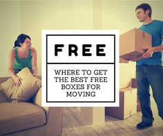 Where to Get the Best Free Boxes for Moving
