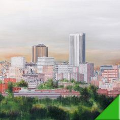 MADRID DESDE POZUELO óleo sobre lienzo   165x130
