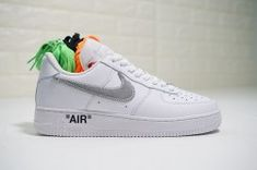 Unisex Off-White x Nike Air Force 1 Friends  amp  Family White Silver AA3825 4e4f9e6ad73b
