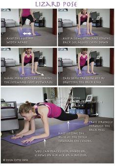 Yoga Gypsy: Yoga Tip Tuesdays: Lizard Pose
