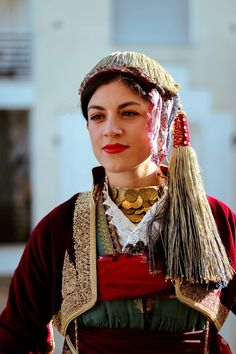 Greece, Captain Hat, Costumes, Hats, Dresses, Fashion, Greece Country, Vestidos, Moda