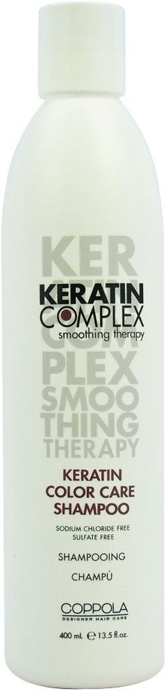 keratin complex color care shampoo 13.5 oz.