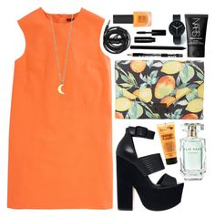 """""""Untitled #59"""" by theperksofbeingsophie ❤ liked on Polyvore featuring Uniform Wares, ASOS, Topshop, Christopher Kane, NARS Cosmetics, Loeffler Randall, I Love..., Minor Obsessions, Urbanears and Bobbi Brown Cosmetics"""