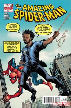 Amazing Spider-Man issue number 669 Amazing Fantasy Comics variant cover by Todd Nauck. Amazing Fantasy is a local comic shop in Chesapeake, VA and Victor Wooten is a grammy award winning bassist. Stan Lee, Victor Wooten, Spiderman Comic Books, Joe Kubert, Cover Boy, George Perez, Spider Girl, Fantasy Comics, Superhero Characters