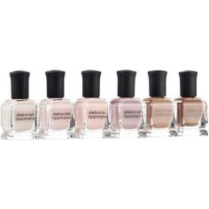 Deborah Lippmann Undressed Shades Of Nude Set Nail ($34) ❤ liked on Polyvore featuring beauty products, nail care, nail polish, deborah lippmann, deborah lippmann nail lacquer, deborah lippmann nail color and deborah lippmann nail polish