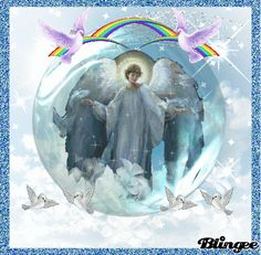 Heavenly Angels with Wings Animated | heavenly angel tags angel heavenly
