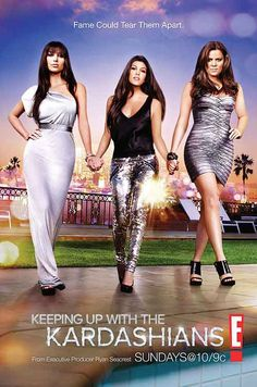 Keeping up with the Kardashians - why oh why do I put myself through this lol I will never get the time back
