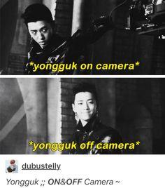 #Bap #Bang #yongguk #cute #funny #kpop