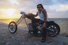Billy Lane, Choppers, Inc., Melbourne, FL Photograph © 2013 r. Custom Choppers, Custom Motorcycles, Old School Motorcycles, Bike Builder, Custom Cycles, Chopper Motorcycle, Street Glide, Harley Davidson Bikes, Super Bikes