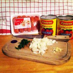 Simple Sausage Marinara