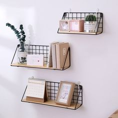 Handmade Nordic Style Wooden Wall Shelves and Hanger - Room Inspo - Cute Room Ideas, Cute Room Decor, Teen Room Decor, Cheap Room Decor, Diy Dorm Decor, College Room Decor, Dorm Room Decorations, Dorm Desk Decor, Study Room Decor