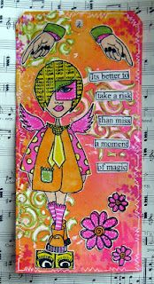 Lisa's Collage Stuff Blog: Last Dylusions Tag for Today