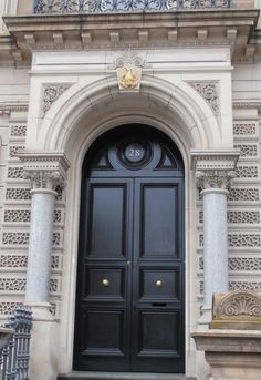 Interesting doorway Collins street