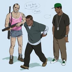 """ringelrei: """"you'll get used to it L """" Video Game Memes, Video Game Art, Video Games, Gta Funny, Funny Memes, Funny Pics, Game Gta V, Trevor Philips, Grand Theft Auto Series"""
