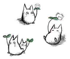 Little_Totoro_Doodles_by_AncientRaven.png (437×372)