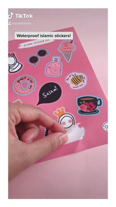 Islamic girly stickers