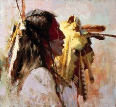 Proud Men Giclee Canvas, Native American Artist Proof A/P