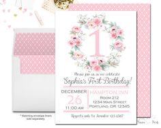 1st Birthday Invitat