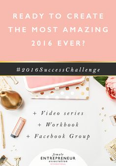 Come and join the #2016SuccessChallenge and get ready for 2016! It's so much fun!