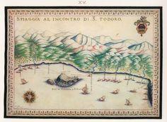 Η παραλία του Πλατανιά Χανίων με τις νησίδες Θοδωρού ή Άγιοι Θεόδωροι, όπου βρισκόταν βενετικό οχυρό. - BASILICATA, Francesco - ME TO BΛΕΜΜΑ ΤΩΝ ΠΕΡΙΗΓΗΤΩΝ - Τόποι - Μνημεία - Άνθρωποι - Νοτιοανατολική Ευρώπη - Ανατολική Μεσόγειος - Ελλάδα - Μικρά Ασία - Νότιος Ιταλία, 15ος - 20ός αιώνας