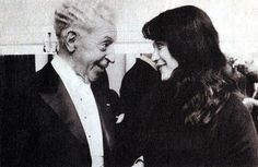 Martha Argerich and Arthur Rubinstein