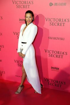 See all the best outfits from the Victoria's Secret after party: