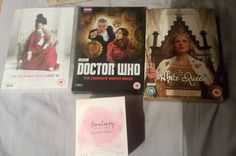 A successful afternoons shopping. #doctorwho #britneyspears #petercapaldi #jennacoleman #thedoctor #thewhitequeen #scandalousladyw #nataliedormer #perfume #dvds