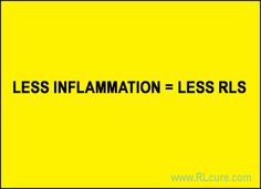 TURKISH STUDY REVEALS THAT THERE IS A LINK BETWEEN RESTLESS LEGS SYNDROME AND INFLAMMATION