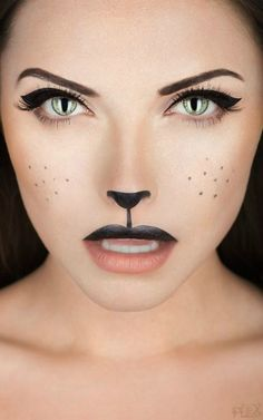 easy halloween makeup 3