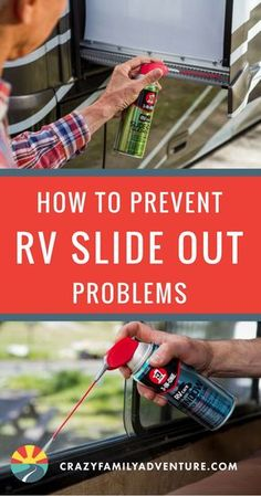 How to Prevent RV Slide Out Problems- Throughout our years of full-time RV Living, we have discovered a few helpful RV hacks. Find out how to prevent pesky RV slideout problems, for any amount of time spent RV Camping. Rv Camping Tips, Travel Trailer Camping, Camping Car, Outdoor Camping, Rv Tips, Camping Essentials, Camping Outdoors, Travel Trailers, Camping Stuff