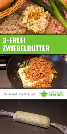 Butter, Foodblogger, Brunch, Snacks, Meals, Vegetables, Ethnic Recipes, Dips, German