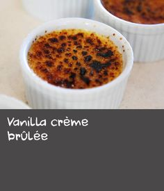 This classic crème brûlée recipe is a great marriage of simple ingredients. The rich custard base flavoured with vanilla bean is irresistible with its crisp burnt sugar crust. A simple yet stunning dessert! Rice Custard, Custard Ingredients, Baking Recipes, Dessert Recipes, Burnt Sugar, Mustard Recipe, Creme, Delicious Desserts, Vanilla