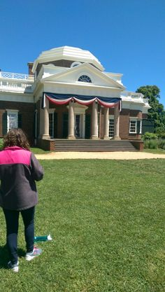 We are at Jefferson's house in Monticello.