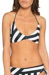 TAVIK 'Day Dreamer' Stripe Bikini Top