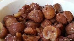 Le castagne alla valdostana sono un delizioso accompagnamento per salumi e formaggi... valdostani soprattutto.