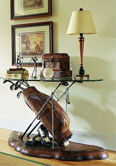 golf tables furniture | Golf Console Table by Hooker Furniture