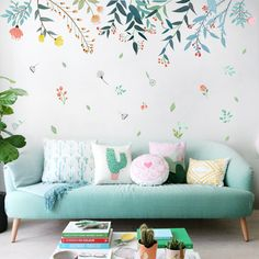 wall decals for living rooms #wall decals #homedecor #wallsticker