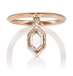 Diamond Foundry x Barneys New York Eva Fehren Hero Charm Ring
