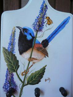 Acrílica sobre madeira - Mary Paiva (Andy) - foto da internet.