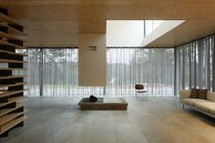 Overlooking the natural beauty of Brittany, France, D House is as elusive as the flowing...