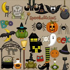 Tricks and Treats: Spooky Add-on by HarperFinchDesigns on Etsy