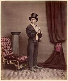 日本の紳士 : 100年前の写真