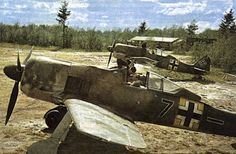 FW 190s in Russia, summer 1942: at the time probably still the best fighter in service anywhere.