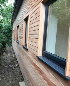 Shadow Gap Hardwood Cladding, traditional cladding supplied in lengths, Grandis ® is a great alternative cladding