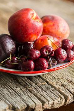 Summer Stone Fruit Crisp