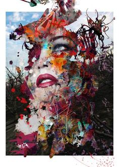 Buy meta not morphic, a Acrylic on Canvas by yossi kotler from Israel. It portrays: Abstract, relevant to: painting, digital art, yossi kotler art, faces, abstract, figurative When I am walking around outside in the nature, by investigating my path and my creativity, there is suddenly a spark that catches my eyes, that I can reflect to its shapes, texture, and to its colors. And this starts a creative process in me. Then I will search for a female figure with a unique look with some of…