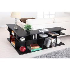 Hokku Designs Zara Sofa Table in Black