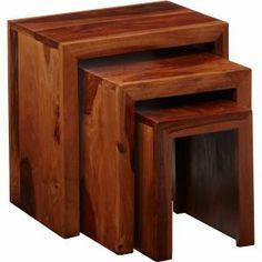 Cuba Nest of 3 Tables
