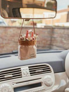 Hippie Auto, Hippie Car, Cute Car Accessories, Car Hanging Accessories, Car Interior Decor, Car Essentials, Car Freshener, Diy Car, Cute Cars