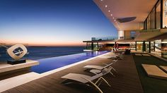 South African firm SAOTA builds for many of Africa's elite. The Cliff House, built on the site of a World War II bunker in Dakar, Senegal, was built as a residence for a Senegalese businessman.
